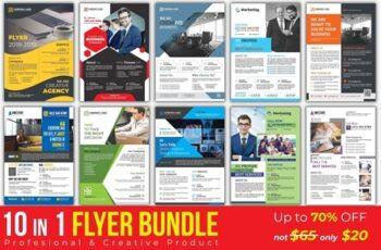 Corporate Business Flyers Bundle 3039310 6