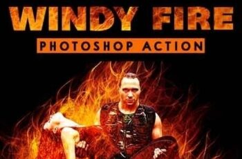 Windy Fire Photoshop Action 23430522 8
