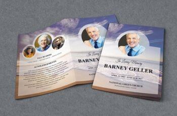 Funeral Program Template 3297842 4