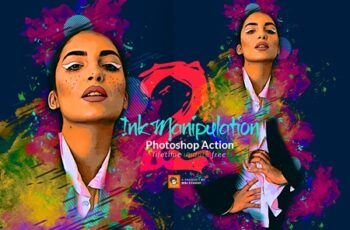 Ink Manipulation Photoshop Action 2 3563671 6