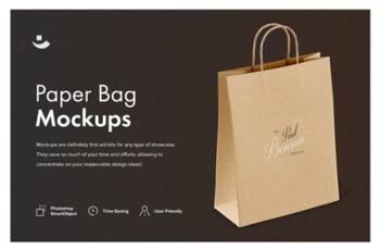 Paper Bag Mockup Set 3504337 7