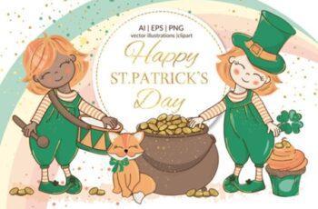 St Patrick's day Holiday Cartoon 3527137 2