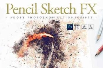 Animated Pencil Sketch FX - Photoshop Add-On 23391849 8