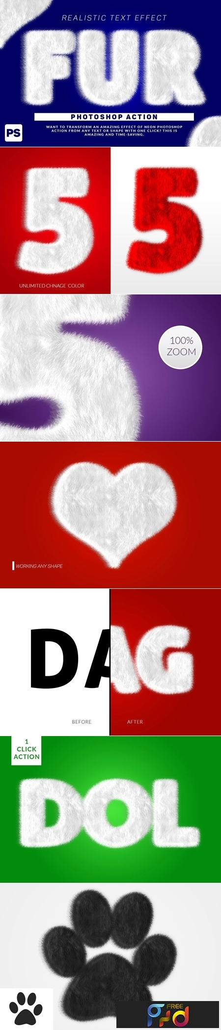 Wool Text Effect Photoshop Action 3165755 1