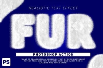 Wool Text Effect Photoshop Action 3165755 4