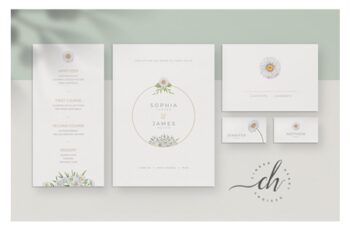 Opal Wedding Invitation Suite 3278930 4
