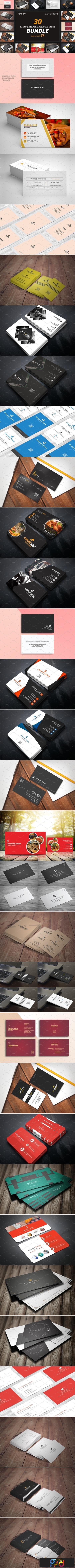 30 Business Cards Bundle 3297958 1