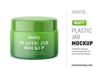 Plastic jar mockup matt 3451129 16
