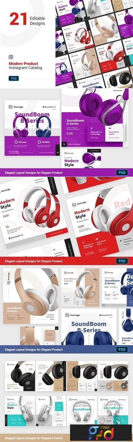 PRODUCT Modern Instagram Posts 3289561 1