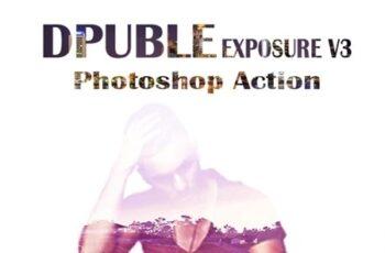 Double Exposure V3 Photoshop Action 23381851 6