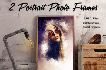 2 Portrait Photo Frames 23153234 5