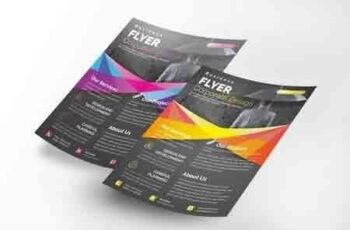 Corporate Flyer Template 4