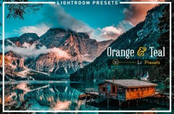 30 Orange & Teal Lightroom Presets 3540363 4