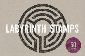 Labyrinth Stamps 4