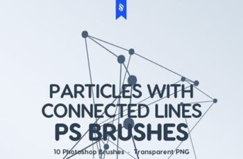 Particles with Connected Lines Photoshop Brushes 23274167 6