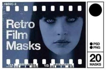 Retro Photo Masks 1
