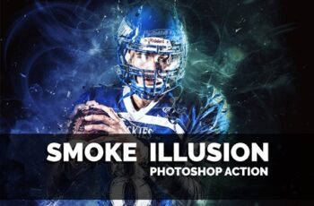 Smoke Illusion Photoshop Action 3617941 5