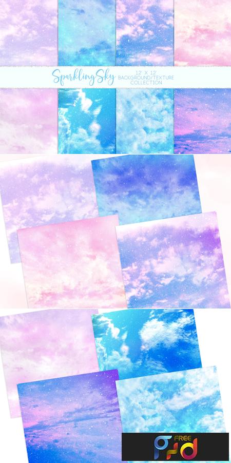 Sparkling Sky Textures 1