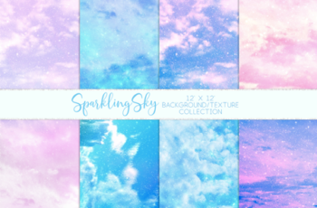 Sparkling Sky Textures 7