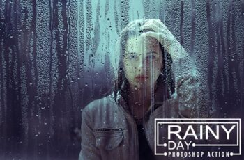 Rainy Day Photoshop Action 3543725 5