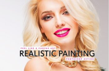 Realistic Painting Photoshop Action 3543803 3