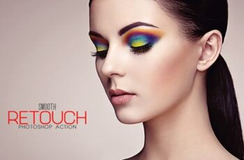 Smooth Retouch Photoshop Action 3544367 8