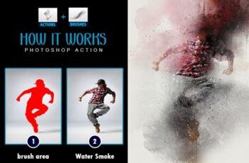 Water Smoke Photoshop Actions 3544370 5
