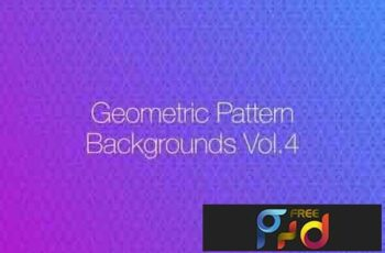 Geometric Pattern Backgrounds vol.4 5