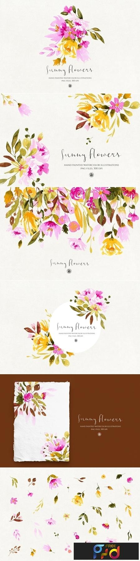 Sunny Flowers 3481637 1