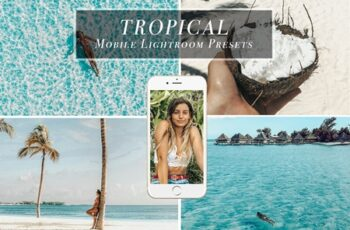 Mobile Lightoom Preset TROPICAL 3614024 6