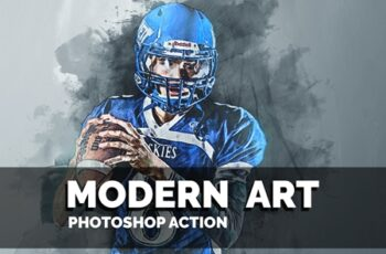 Modern Art Photoshop Action 3614460 12