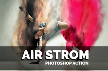 Airstrom Photoshop Action 3545375 6
