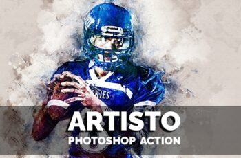 Artisto Photoshop action 3632548 6