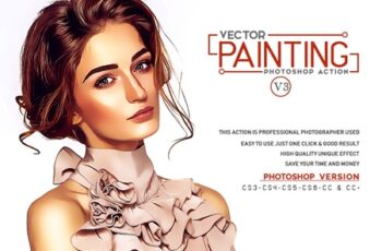 Vector Painting Photoshop Action V3 3545313 5
