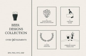 Beer Designs Collection 1
