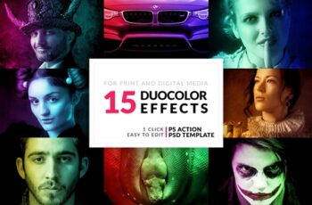 15 Duo Color Photoshop Actions 3330985 1