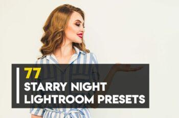 77 Starry Night Lightroom Presets 3544213 3