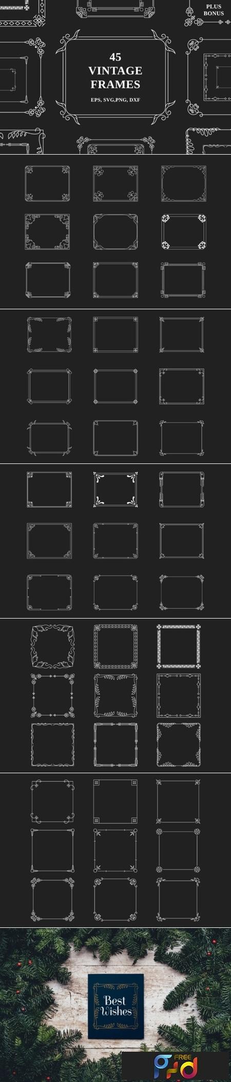 45 Vintage Frames 1