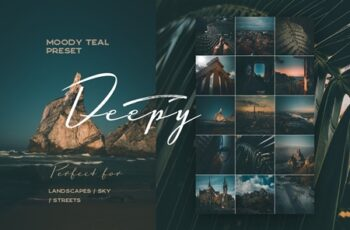 Deepy Moody Teal Lightroom preset 3564962 5