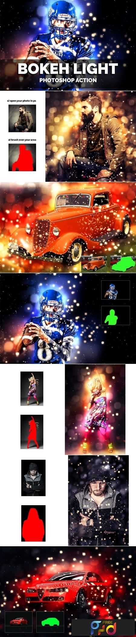 Bokeh Light Photoshop Action 3645453 1