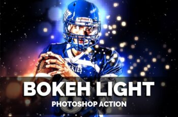 Bokeh Light Photoshop Action 3645453 10