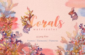 Corals Watercolor png 3480803 8