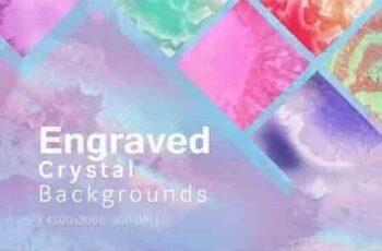 Engraved Crystal Backgrounds 6