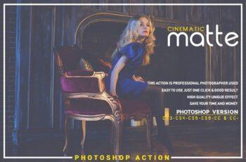 Cinematic Matte Photoshop Action 3546456 5