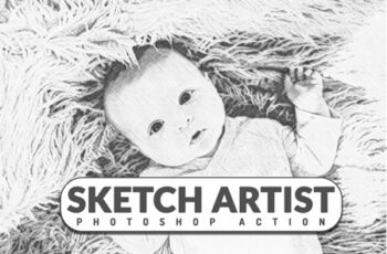 Sketch Artist Photoshop Action 3546288 7