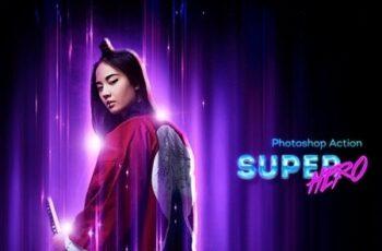 SuperHero Photoshop Action 23363059 3