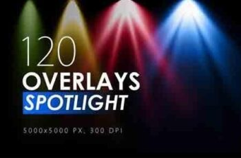 120 Colorful Spotlight Overlays 5