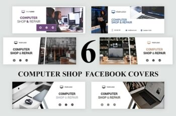 Computer Shop Facebook Covers SK 3168666 3