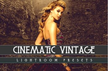 Cinematic Vintage Lightroom Presets 3546933 7