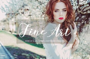 Fine Art Mobile & Desktop Lightroom Presets 3547161